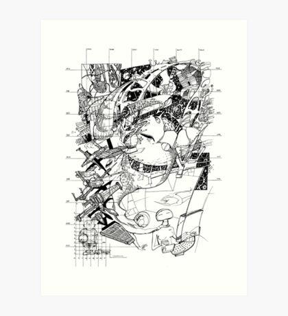 Graphics 017 Art Print