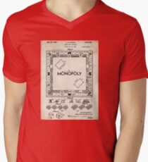 Monopoly Board Game US Patent Art 1935 T-Shirt