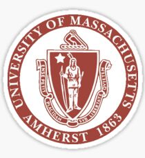 Umass Amherst Seal Sticker