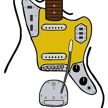 Fender Jaguar by kyhro