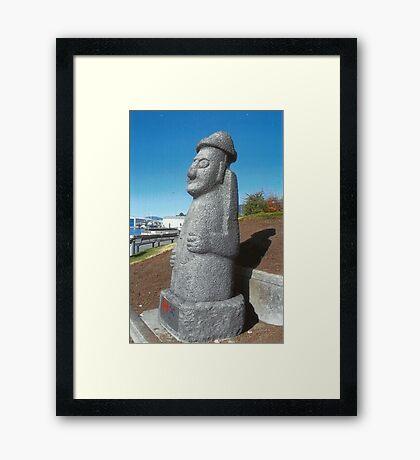 Native Resident Framed Print