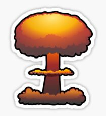 Nuclear Explosion Sticker