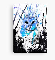 Watcher - Blue Canvas Print