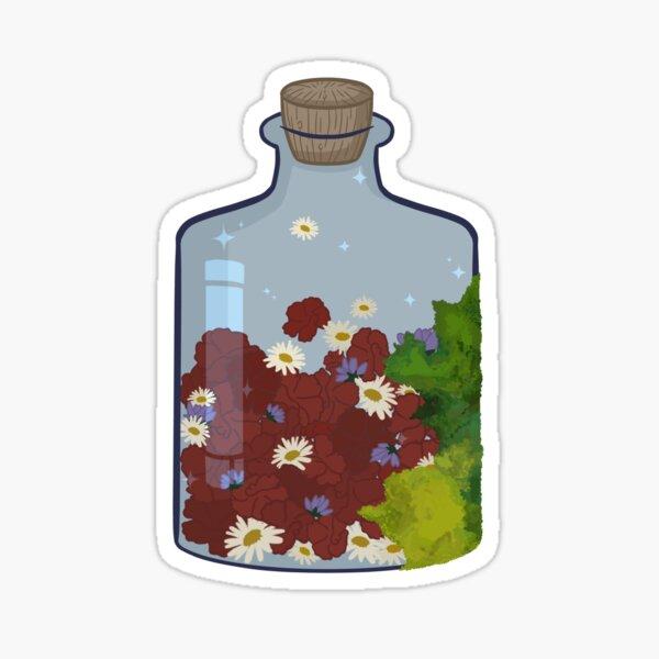 Flower Witch Ingredient Sticker