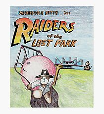 Raiders of the Lost Park Photographic Print