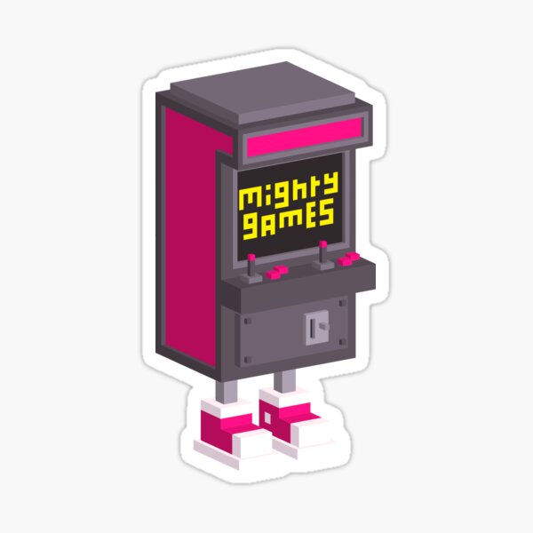 Mighty Games Logo Sticker! Sticker