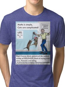 Cats Are Complicated Tri-blend T-Shirt