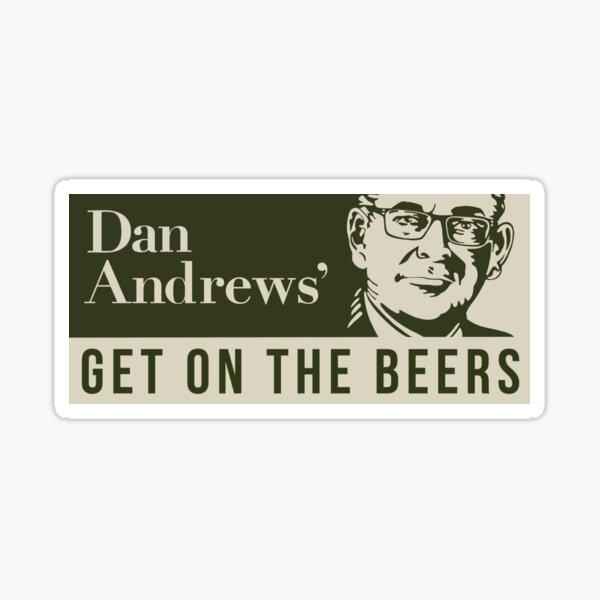 Dan Andrews Pegatina