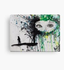 Eyes Never Forget Canvas Print