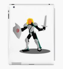RPG Fighting Armored Warrior Character Knight iPad Case/Skin