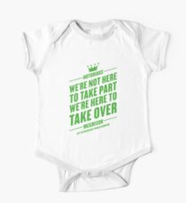 Conor McGregor - Quotes [Take Over] One Piece - Short Sleeve