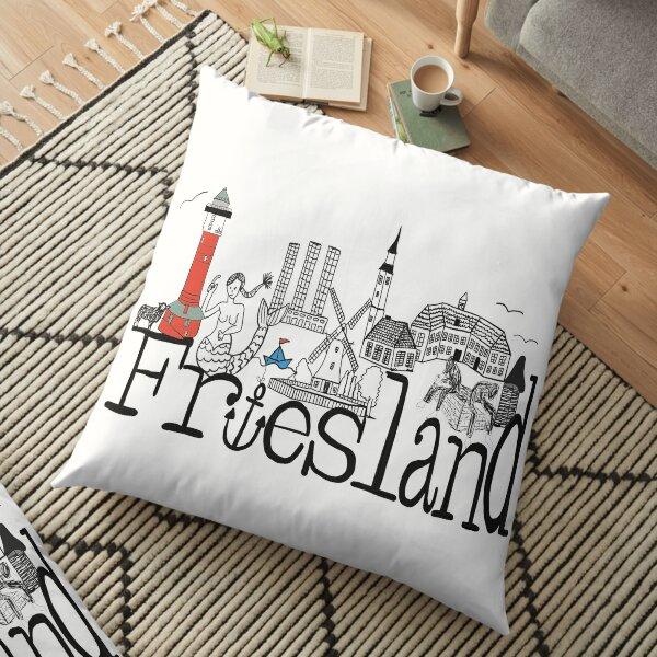 Friesland Skyline Bodenkissen