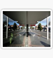 Reflection,Top Ryde,NSW,Australia 2014 Sticker