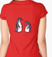 penguin lifestyles Women's Fitted Scoop T-Shirt