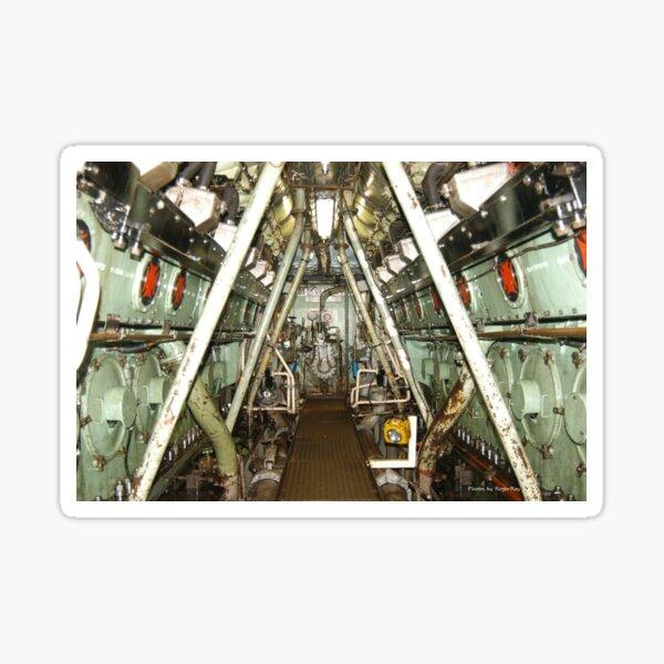 HMAS Westralia (II) Engine room Sticker