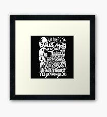 EAGLES OF DEATH METAL Framed Print