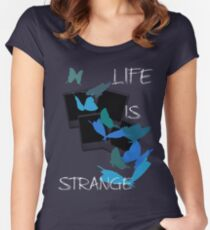Strange-7 Women's Fitted Scoop T-Shirt