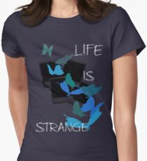 Strange-7 Women's Fitted T-Shirt