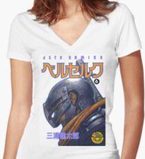 Berserk Volume 6 Women's Fitted V-Neck T-Shirt