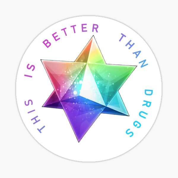Saint Quartz (What they Truly Are) Sticker