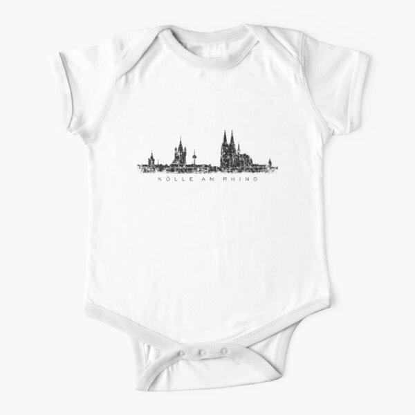 Kölle am Rhing Köln Skyline Short Sleeve Baby One-Piece
