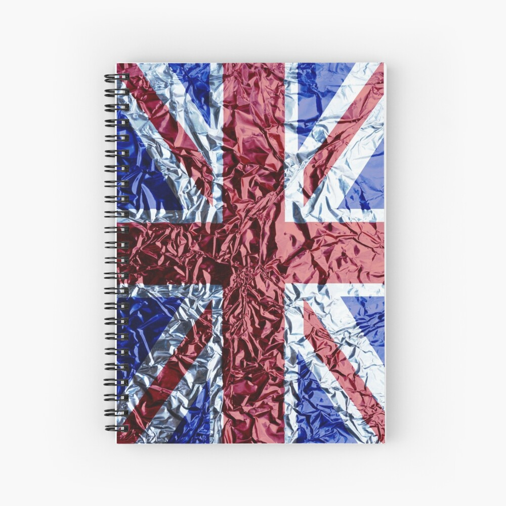 The Union Jack Spiral Notebook