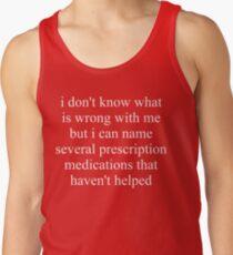 Prescription Medications Tank Top