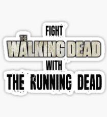 The Running Dead Sticker