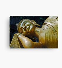 Sleeping Buddha Canvas Print