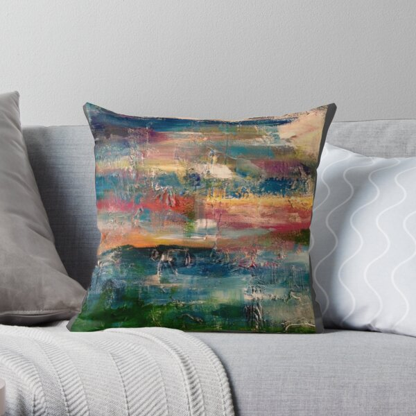 a piece of creation  Throw Pillow