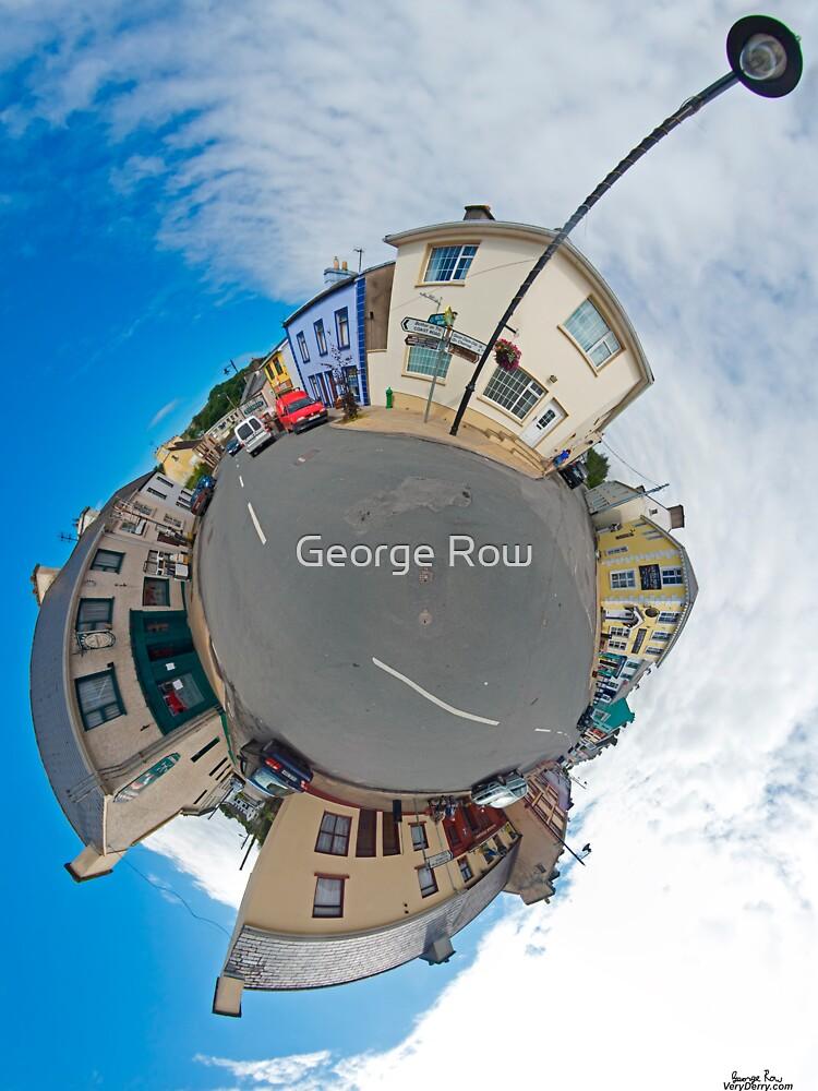 Kilcar Main Street - Sky Out by VeryIreland