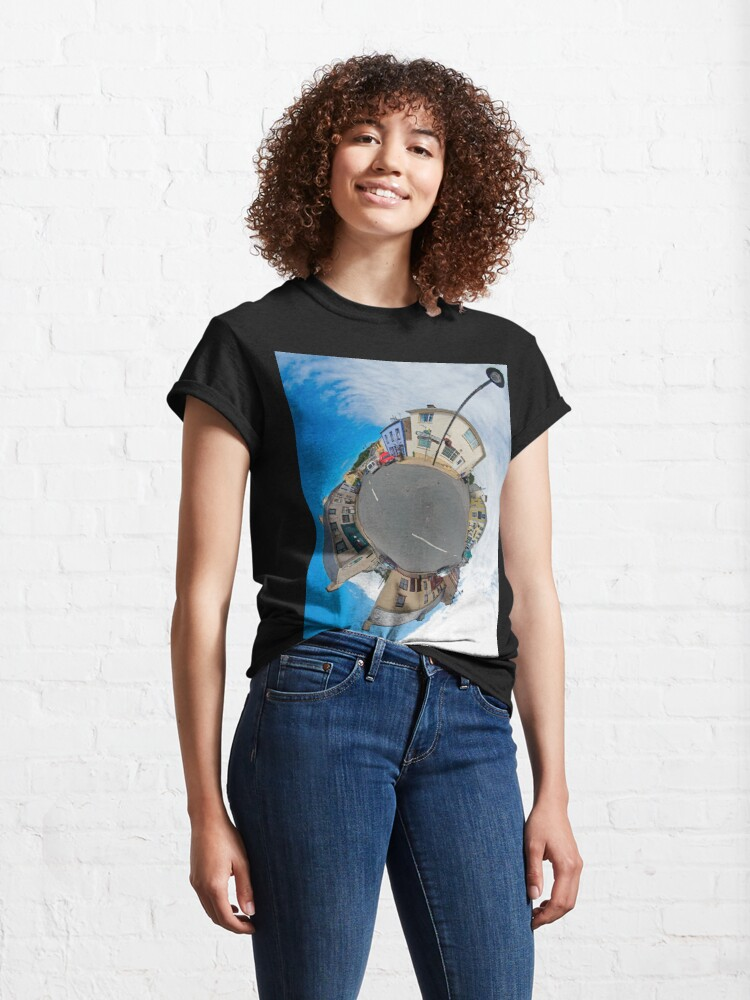 Alternate view of Kilcar Main Street - Sky Out Classic T-Shirt