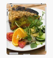 Vegetarian Meal - Food Photography iPad Case/Skin