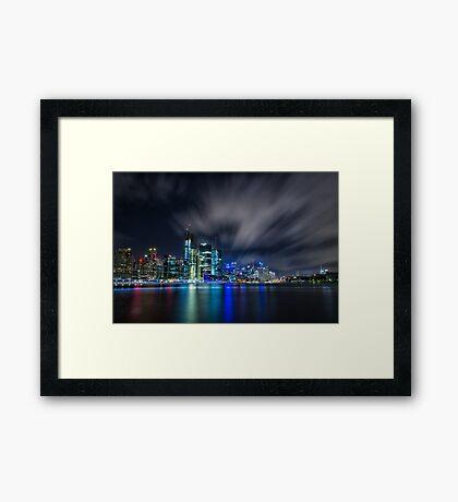Sydney Skylight Framed Print