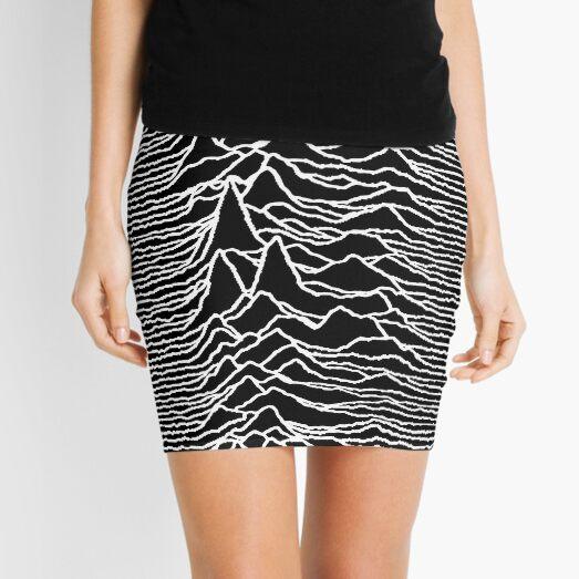 Unknown Pleasures Mini Skirt