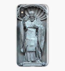Saint Nicholas the bronze sculpture iPhone Case/Skin