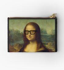 Hipster Glasses Mona Lisa - Leonardo da Vinci Studio Pouch