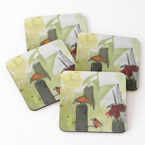 Three Little Birds Untersetzer (4er Set)