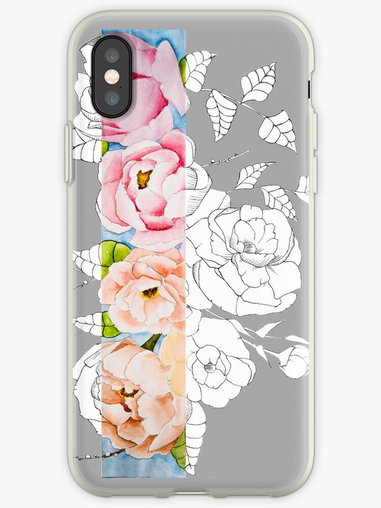 buy online 1cc35 c17b9 'peony' iPhone Case by creationfail