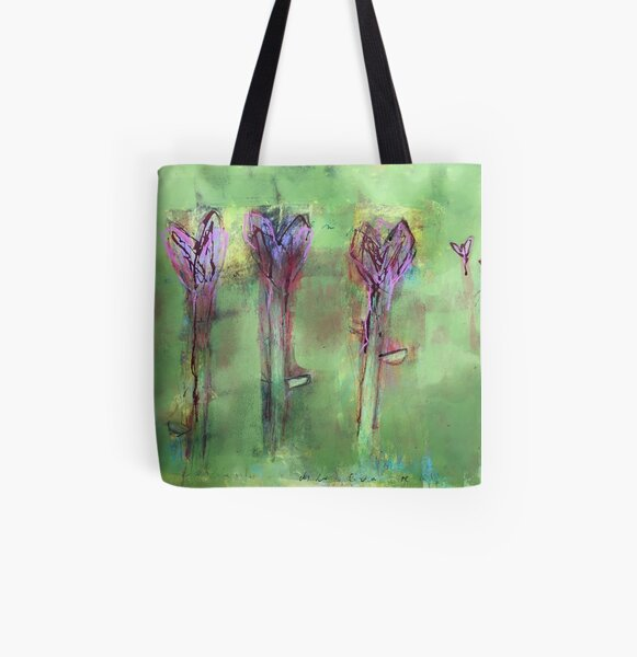 Amarylis Allover-Print Tote Bag