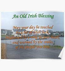 Old Irish Blessing #4 Poster