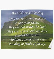 Old Irish Blessing #5 Poster