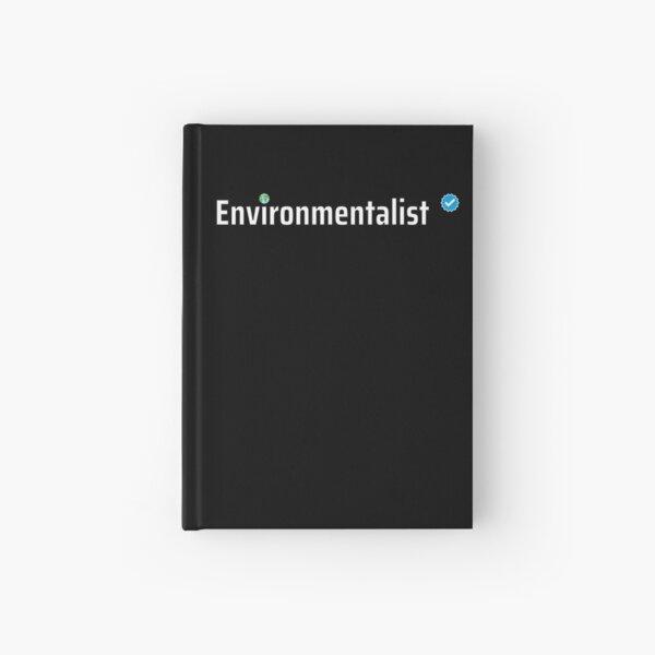 Verified Environmentalist Hardcover Journal