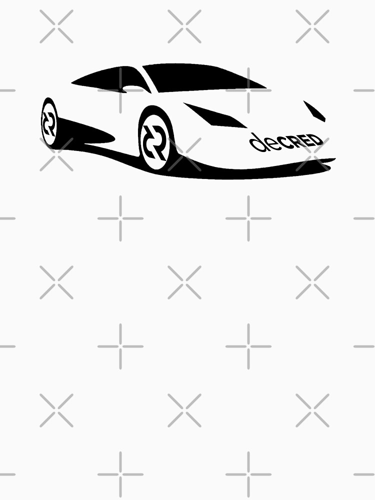 Decred sports car ™ v1 'Design timestamped by https://timestamp.decred.org/' by OfficialCryptos