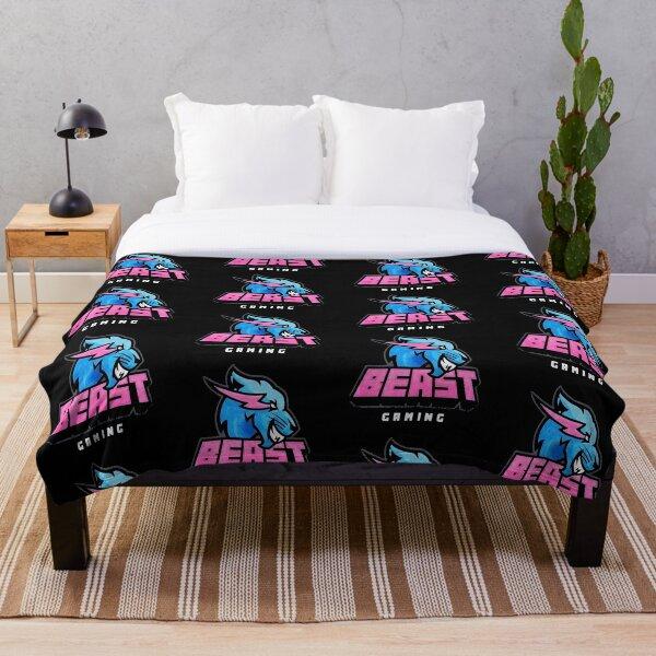 Mrbeast gaming  Throw Blanket