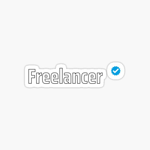 Verified Freelancer Sticker