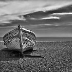 Beached in B&W by Geoff Carpenter