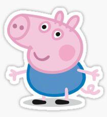 George Pig Sticker