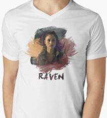 Raven - The 100 -  Brush Men's V-Neck T-Shirt