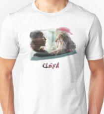 Clexa - The 100 - brush T-Shirt